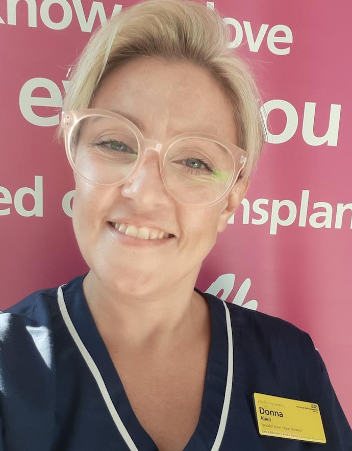 Donna Allen - Specialist Nurse Organ Donation