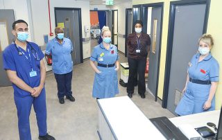 Staff pleased with new look ward