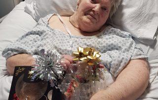 Patient Ann had a birthday surprise